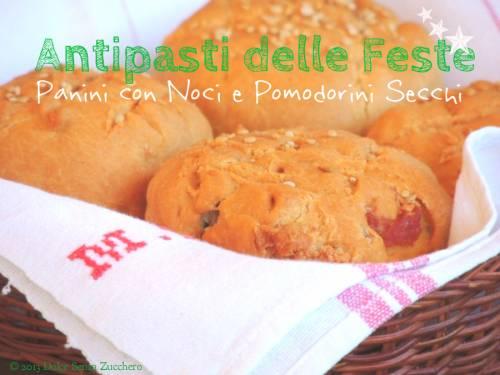Panini-di-Farina-di-Ceci-con-Noci-e-Pomodorini-Secchi