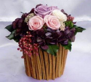 cannella 3 vaso di fiori