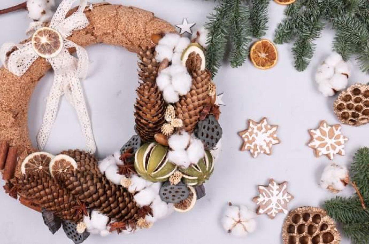 Idee Di Riciclo Per Natale 10 ghirlande di natale fai-da-te a costo zero - greenme.it