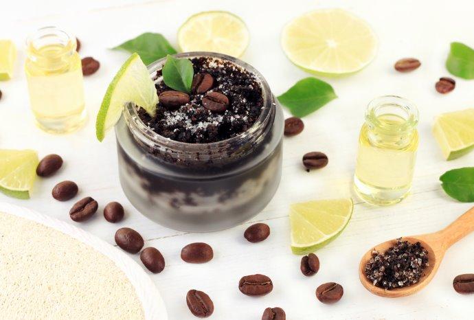 scrub caffe limone