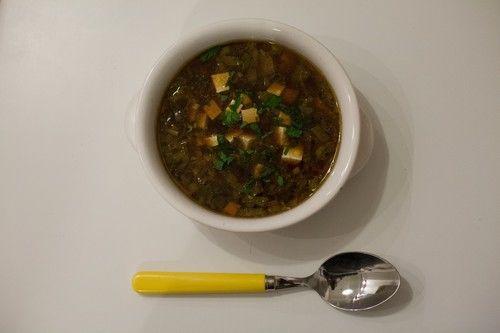 zuppa di miso al tofu