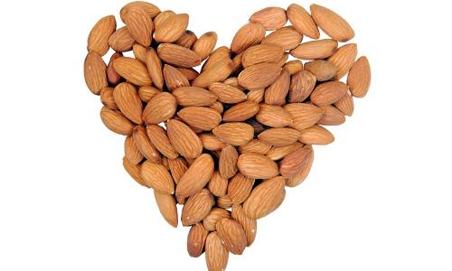 almonds-heart