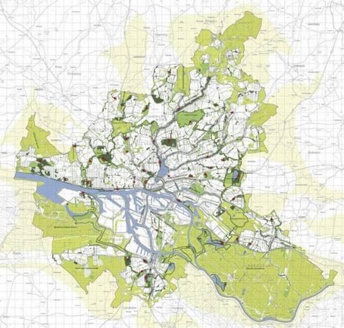 amburgo car free mappa