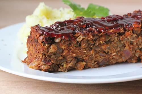 arrosto vegetariano lenticchie