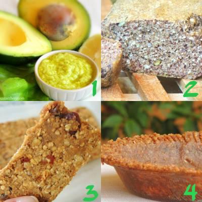 10 Ricette Vegetariane Naturali e Senza Zucchero
