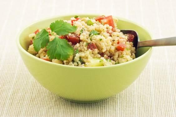 seitan quinoa