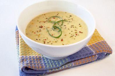 zuppa porri patate