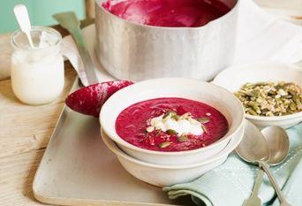 zuppa barbabietole