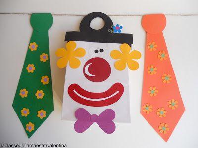 clown cravatte