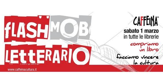flash mob letterario caffeina libri cultura