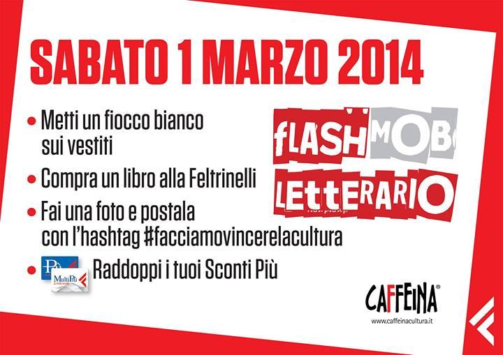 flash mob letterario feltrinelli