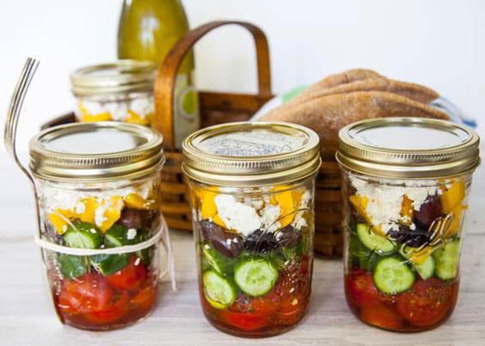 insalata in barattolo 5 insalata greca