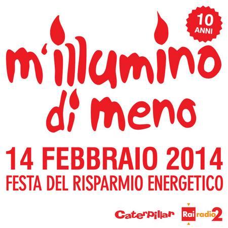 millumino di meno 2014 logo