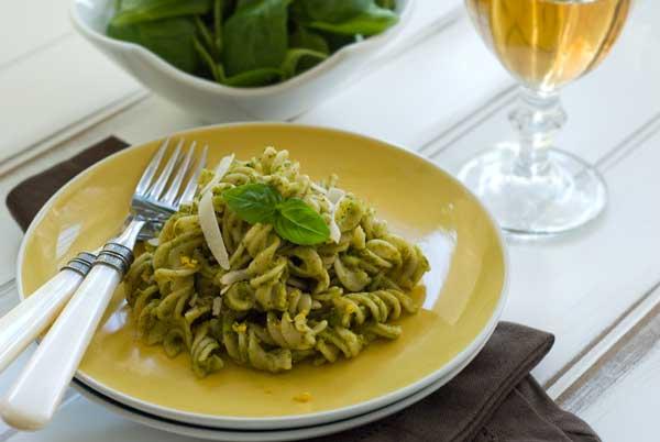 pasta salsa pistacchi
