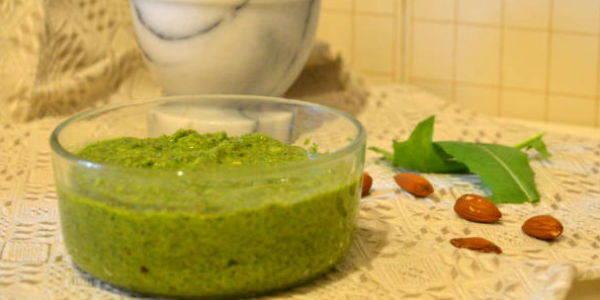 pesto radicchio verde