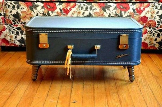 tavolino caffè valigia