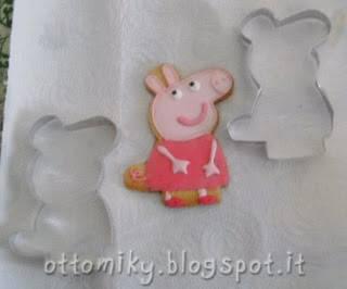 formine biscotti 1 peppa pig