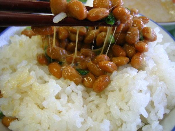 natto riso giapponese