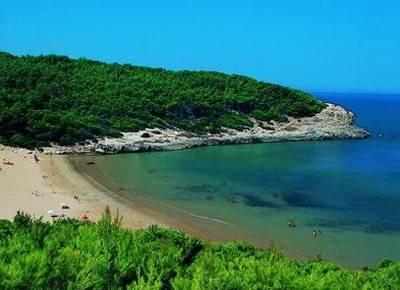 spiaggia di cala lunga peschici