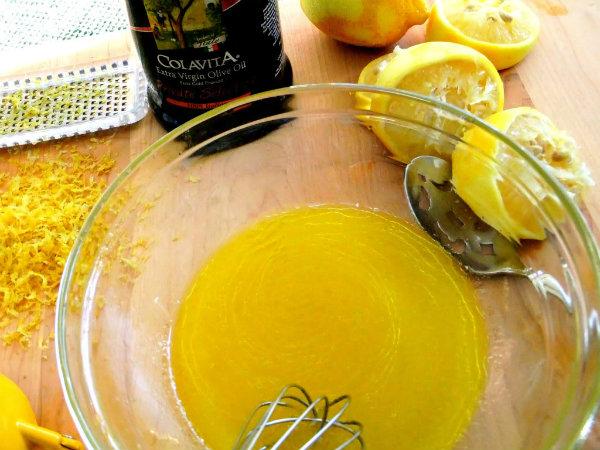 spray olio limone
