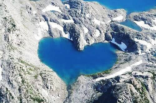 Shimshal lake is located in Hunza Valley