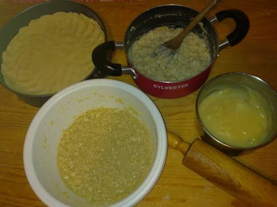 ingredienti pastiera
