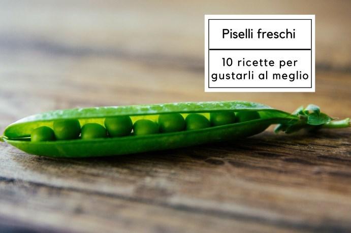Piselli freschi