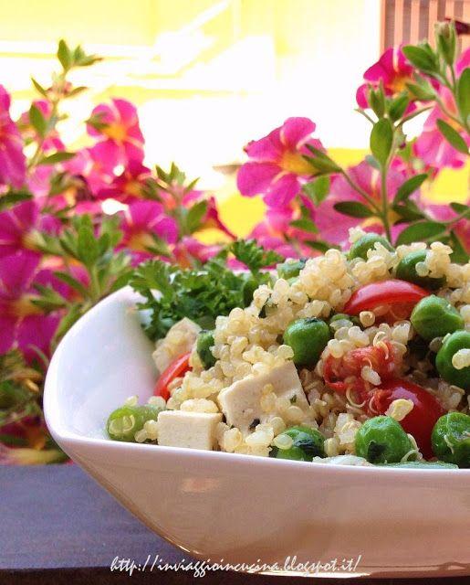 quinoa piselli
