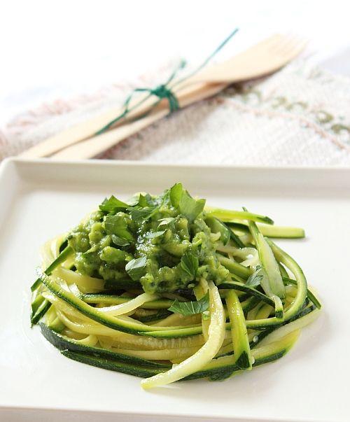spaghetti di verdure 1