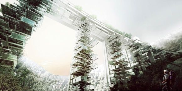 Salerno ponte grattacielo2