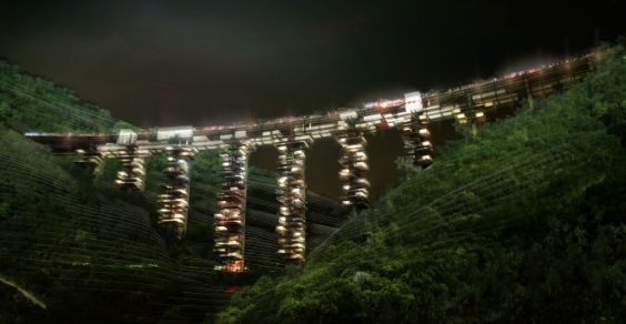 Salerno ponte grattacielo5