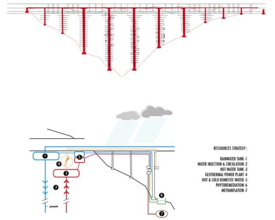 Salerno ponte grattacielo progetto