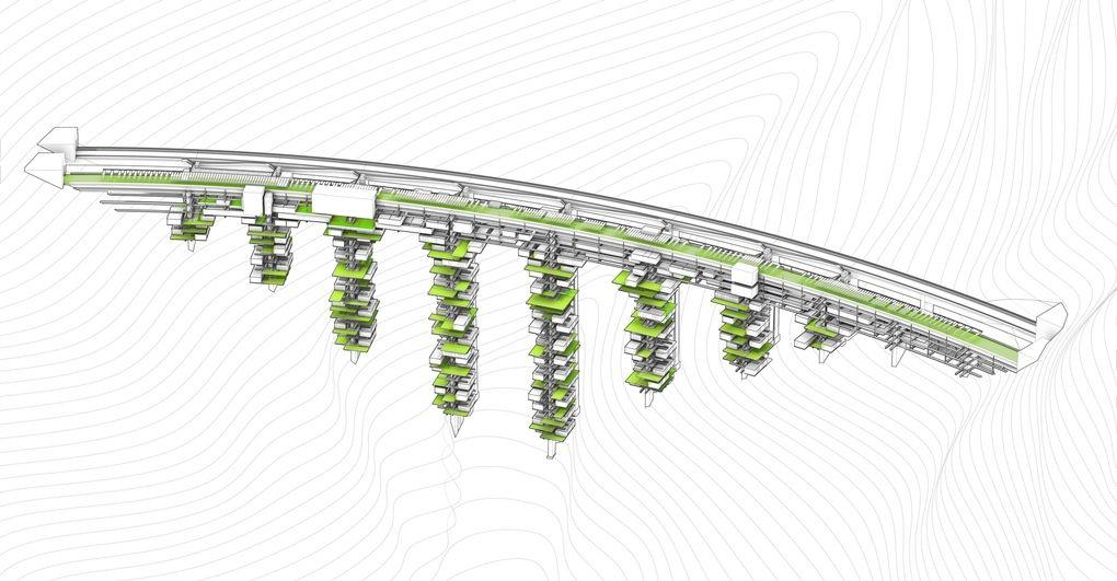 Salerno ponte grattacielo progetto2