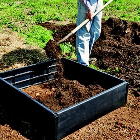 coltivare patate letto rialzato