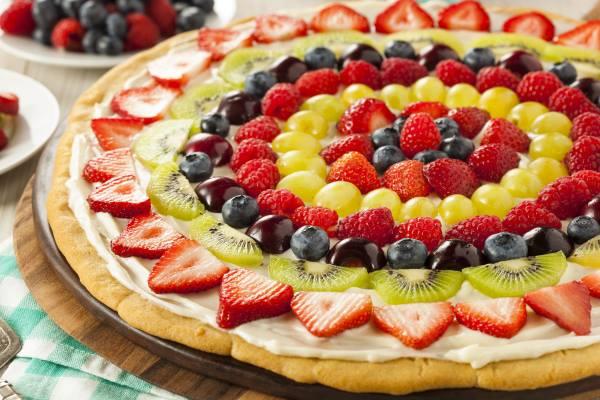 crostata frutta vegan