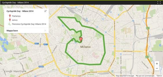 cyclopride day milano 2014