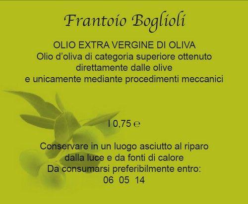 etichette olio 2