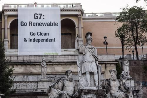 g7 greenpeace