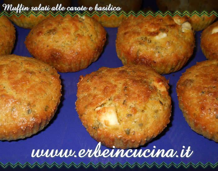 muffin salati carote