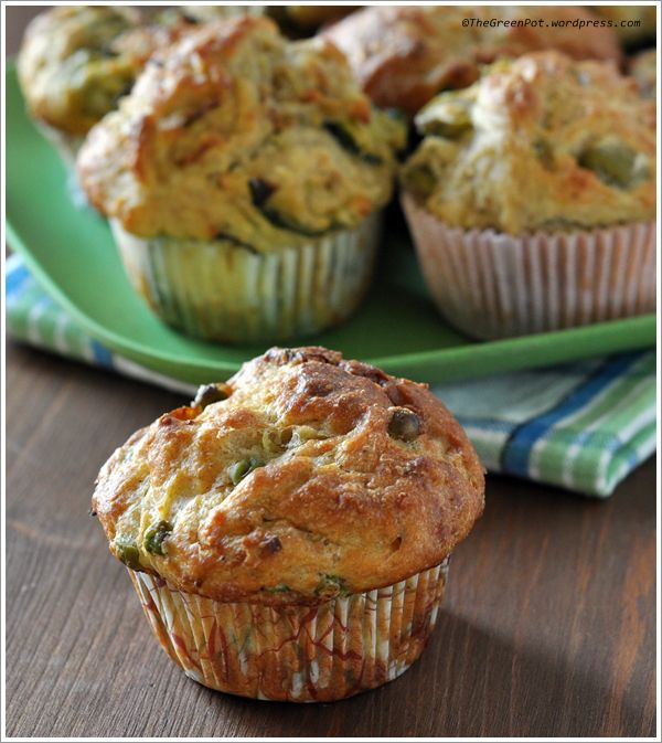 muffin salati patate verdure