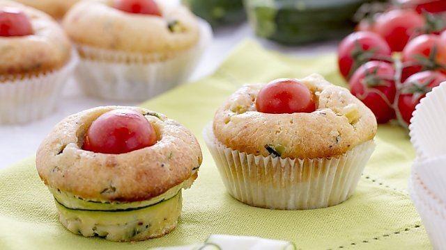 muffin salati ricotta zucchine pomodorini