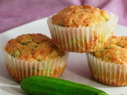 muffin salati zucchine parmigiano