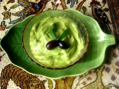 salsa guacamole alle olive