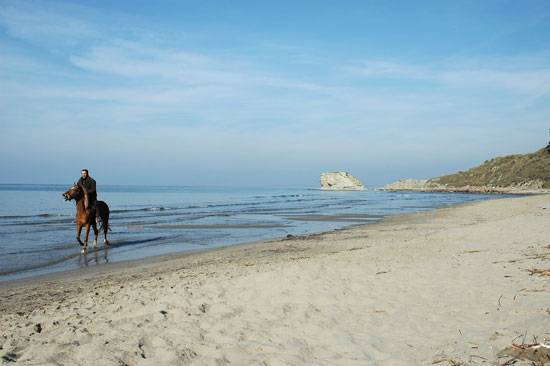 spiaggia trentova