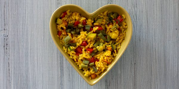 paella vegetariana