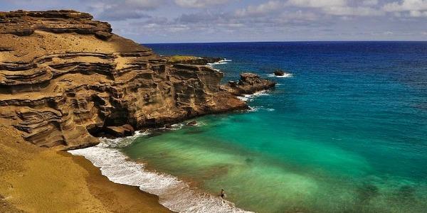 Papakolea green beach la meravigliosa spiaggia verde
