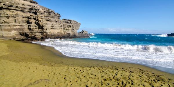 Papakolea green beach la meravigliosa spiaggia verde 05