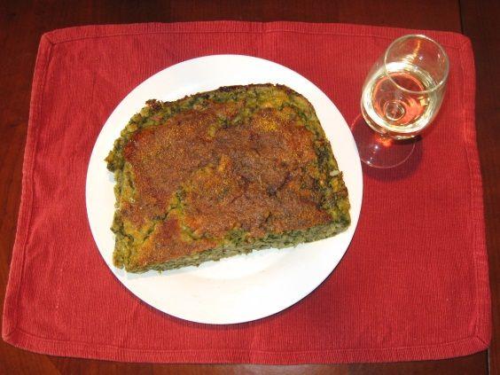 torta salata riso spinaci