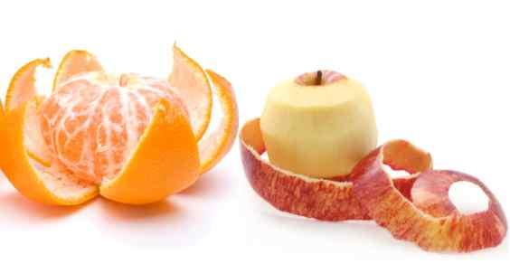 bucce di frutta e verdura