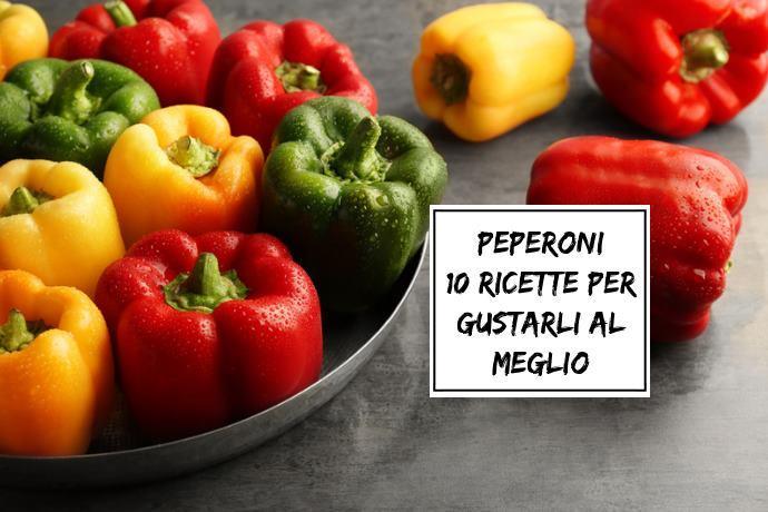 10 ricette con peperoni